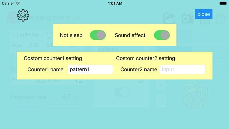 Knit - knitting counter screenshot-3