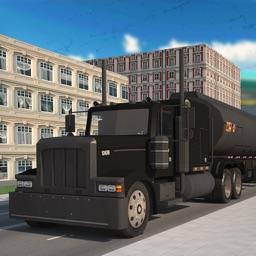 Oil Transporter Truck Cargo