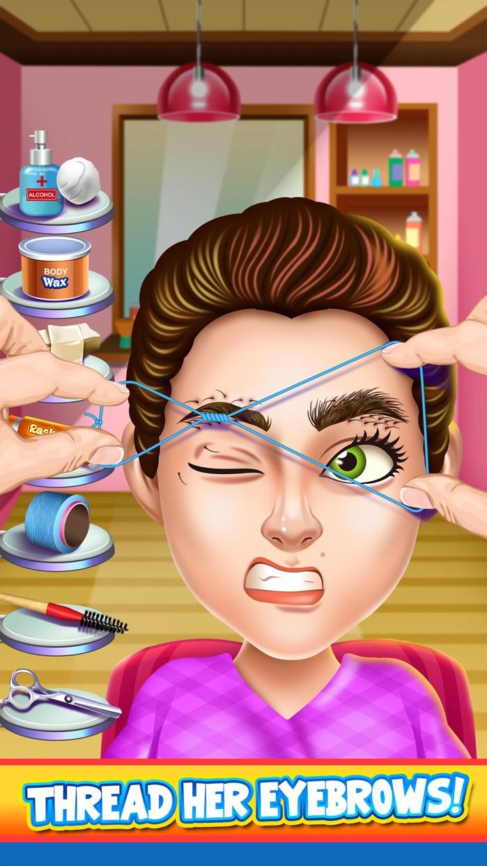Kids Shave Salon Spa Games (Boys & Girls) Screenshot