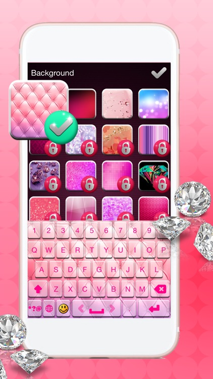 Pink Keyboard Themes: Pimp My Keyboards For iPhone screenshot-4