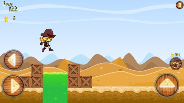 Cowboy Run Desert Adventure screenshot-3