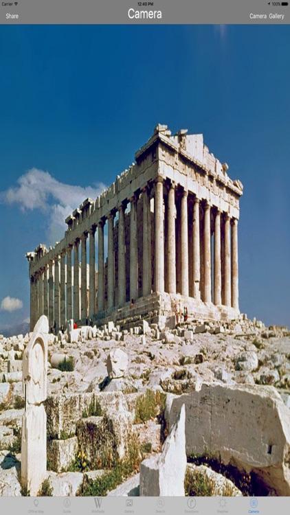 Acropolis & Parthenon Athens Tourist Travel Guide