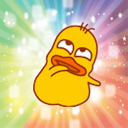 Mental duck emojis animated - Fx Sticker