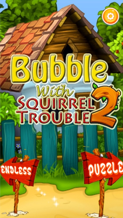 Bubble with Squirrel Trouble 2 : Shoot ,Burst & Pop bubbles in this free bubble shooter