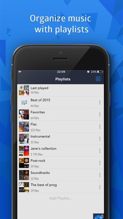 CloudBeats: mp3 music player for Dropbox, Onedrive screenshot-4