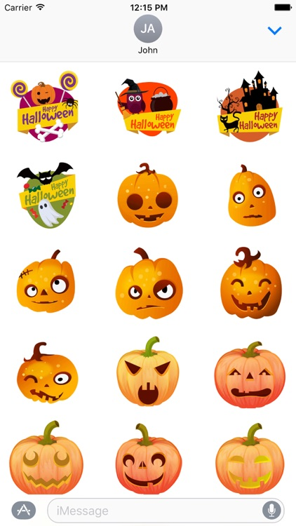 Halloween Stickers - Animated iMessage Stickers by Nishant Butani