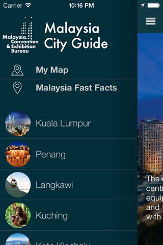 MyCEB City Guide screenshot 2