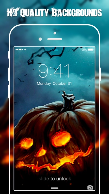 HD Halloween Wallpapers & Backgrounds Free screenshot-4