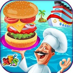Cruise Ship Cooking Mania - Kids Food baking story