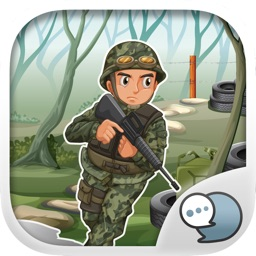 Military Emoji Stickers Keyboard Themes ChatStick