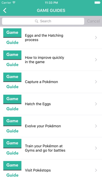 Guide for Pokemon GO (Best Cheats Tips & Tricks) screenshot-3