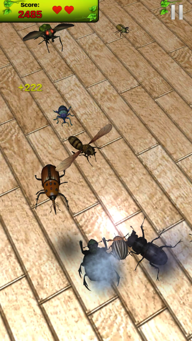 Real Bugs: Beetle Smasher 3D screenshot four