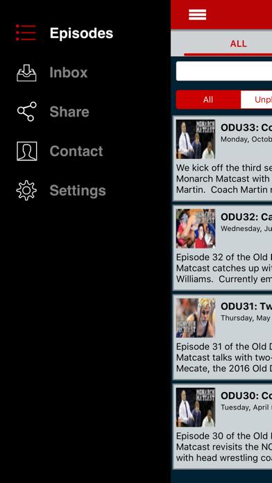 ODU Wrestling Monarch Matcast screenshot three