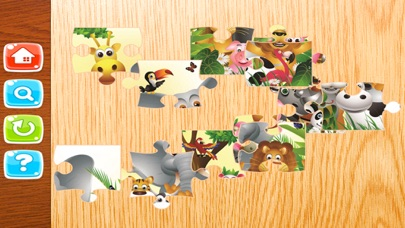 Zoo Animals Jigsaw - Puzzle Box Learning For Kid Toddler and Preschool Games screenshot two