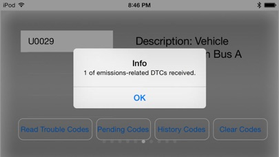 Engine Link - OBD II diagnosis Screenshots