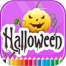 Activities of Halloween Coloring Book - Activities for Kids