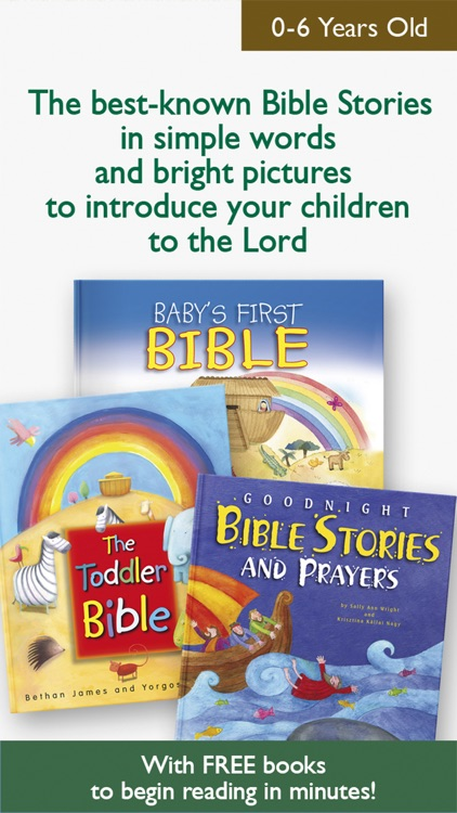 My First Bible Stories for Family & Sunday School screenshot-0