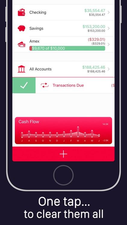 Money Pro - Personal Finance Manager, Spending Tracker, Account Cashflow & Budget Planner screenshot-3
