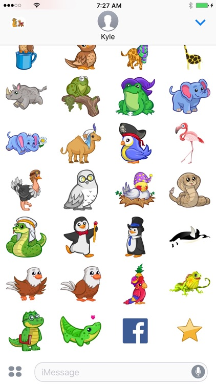 Zoo Cuties: Cute Animal Stickers for iMessage screenshot-4