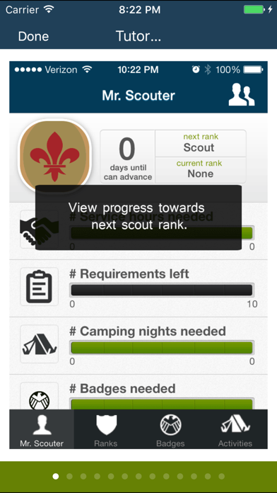 The Scout App for boys in Boy Scouts of America screenshot two