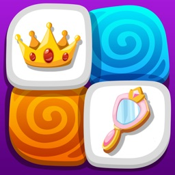 Princess Memory Games - Fairy Tale Game for Kids