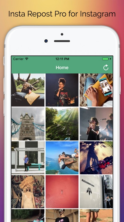 Whiz Repost Pro - Repost Photos & Videos