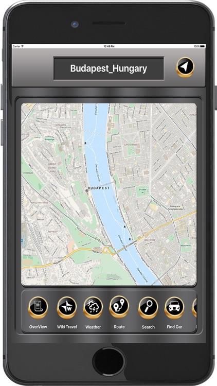 Budapest_Hungary Offline maps & Navigation