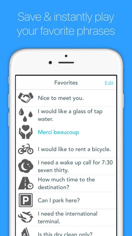 Free English to French Translator for Travelers screenshot-3