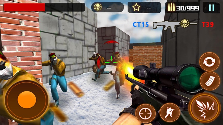 Counter terrorist:multiplayer fps shooting games screenshot-4