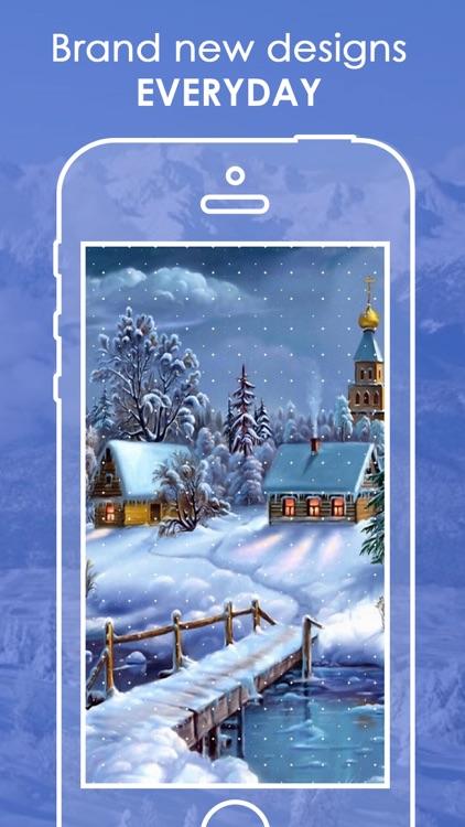 Snowfall Wallpapers HD | Live Snowfall Backgrounds screenshot-4