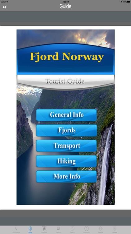 Norwegian fjords Tourist Travel Guide screenshot-3