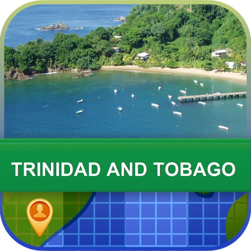 Trinidad and Tobago Map - World Offline Maps