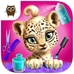 Jungle Animal Hair Salon - Wild Makeover