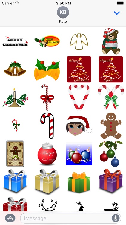 Holiday Pack 100 Stickers