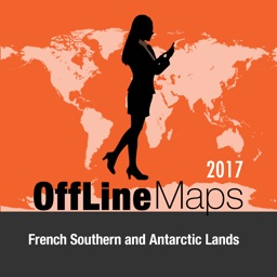French Southern and Antarctic Lands Offline Map