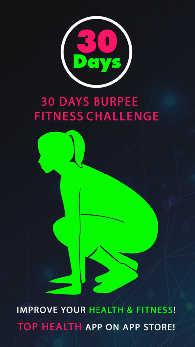 30 Day Burpee Fitness Challenges Pro