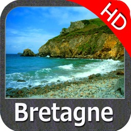 Marine : Bretagne HD - GPS Map Navigator