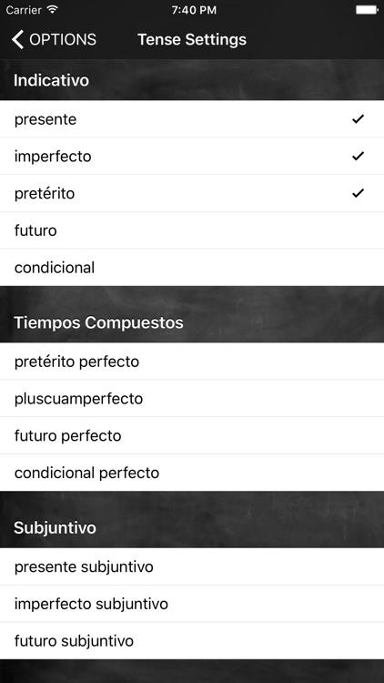 Conjugation Nation Spanish screenshot-3