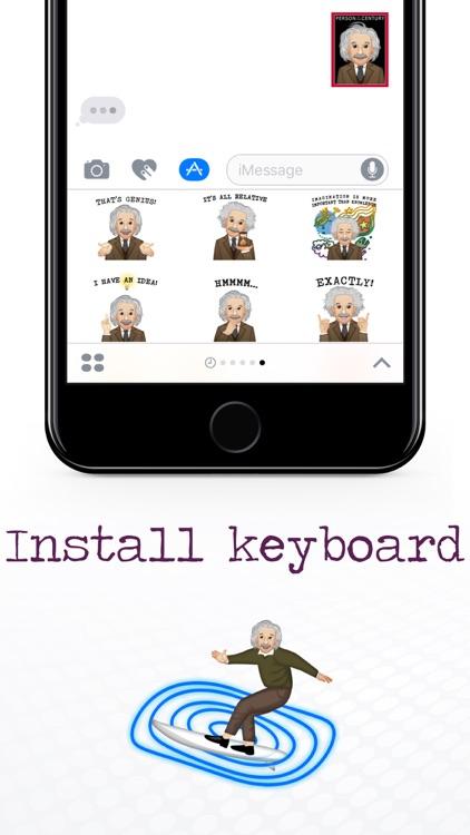 EinsteinMoji ™ by Albert Einstein screenshot-4