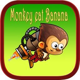 King kong eat banana jungle run games for kids