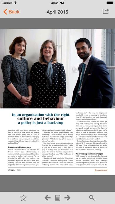 download HR Magazine digital edition apps 3
