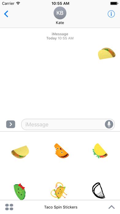 Taco Spin StickersScreenshot of 5