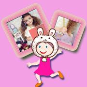 儿童幼儿宝宝大巴士智力拼图 - 拼女孩图片的益智游戏大全