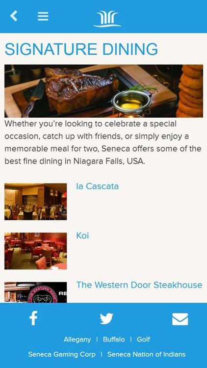 Seneca Niagara Resort & Casino screenshot-3