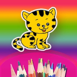 Pets Coloring Game For Children ,Kids or Students