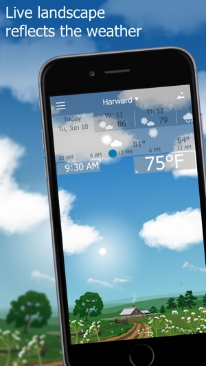 Weather App That Rains On Screen Iphone