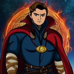 Create Your Own Super-Hero - Free Comics Character Dress-Up Game Dr. Strange Edition for Boys