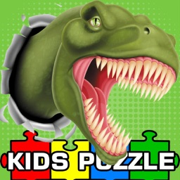 Dinosaur Puzzle Jigsaw HD Game For Toddlers & Kids
