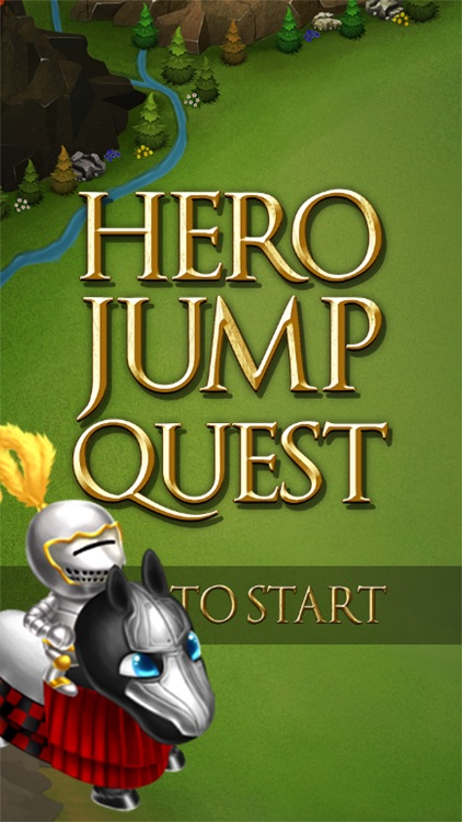 Hero Jump Quest - 3D Arcade Hopper Game screenshot-0