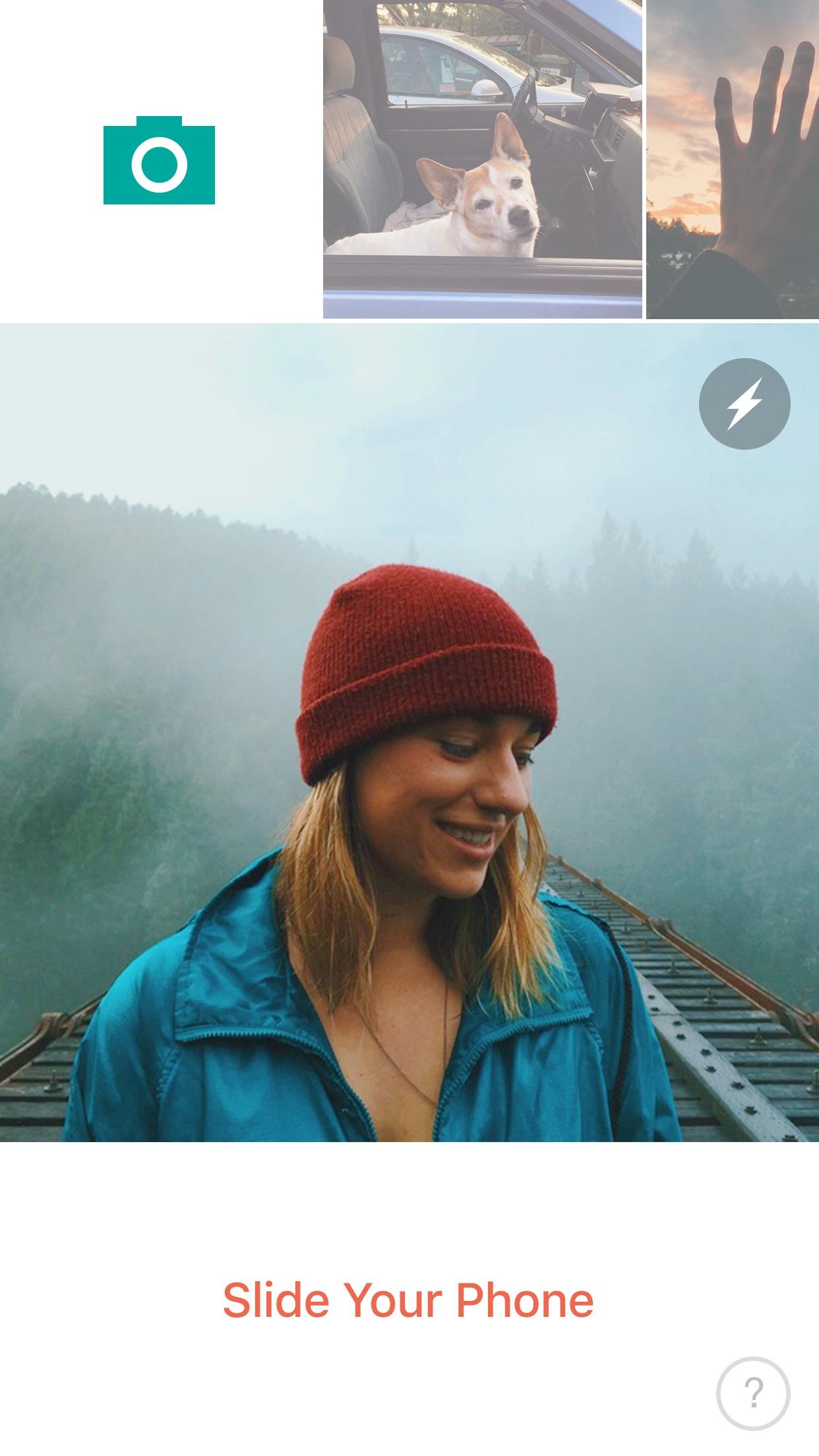 Screenshot do app Slide – 3D GIF Camera